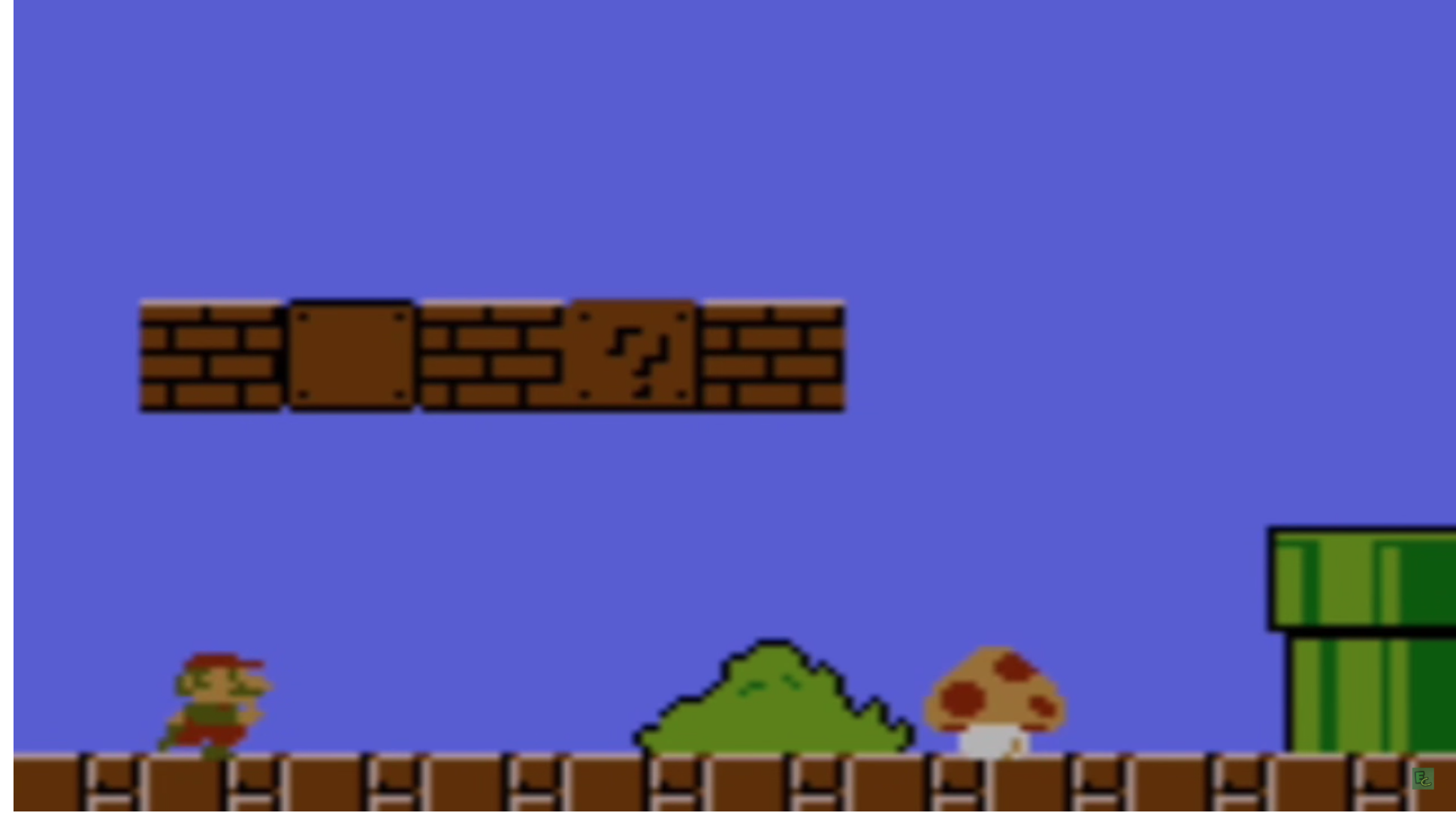 Screenshot of Super Mario Bros World 1-1