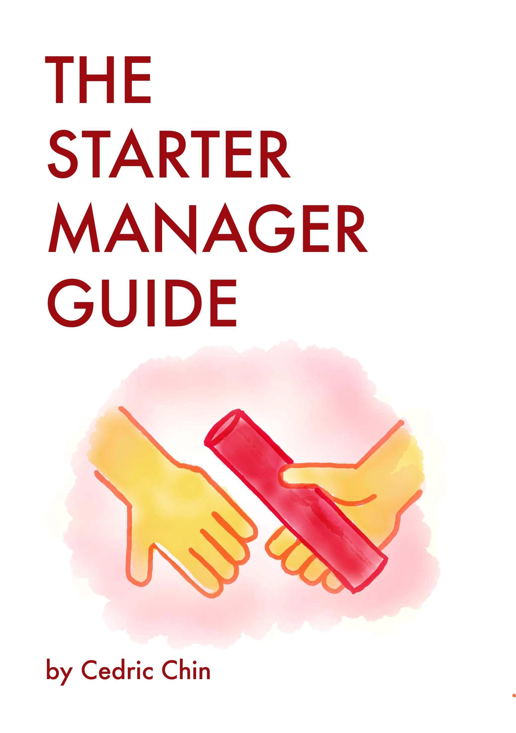 Book cover of The Starter Manager Guide